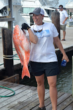 Photo: really vanessa caught the most fish, the biggest fish, and the most variety of fish.