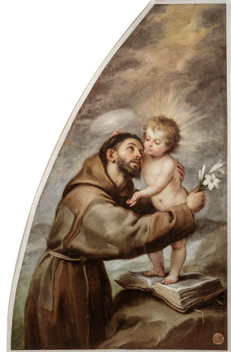Saint Anthony of Padova and the Christ Child