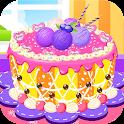 шоколадный торт фрукты icon