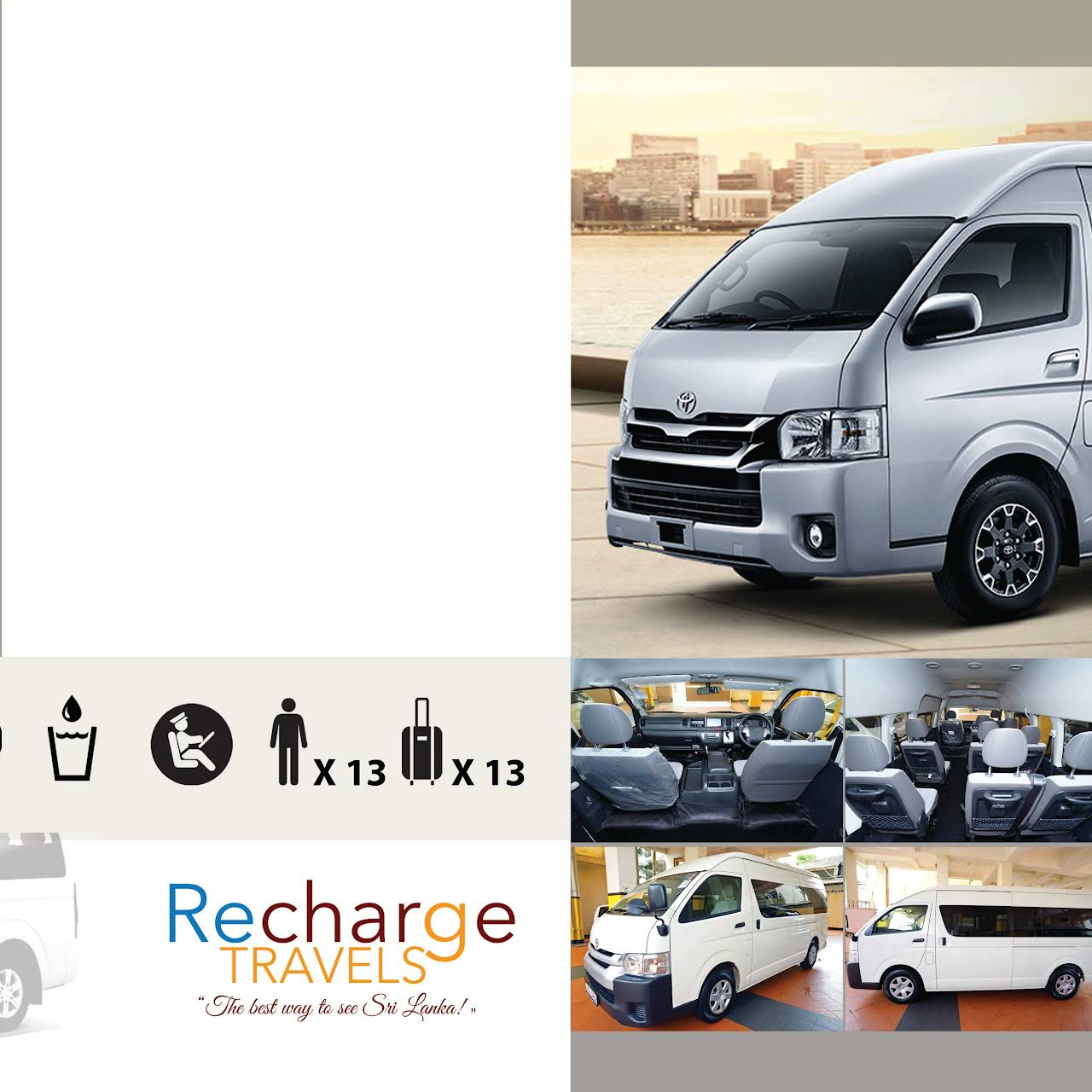 Recharge Travels Ltd - Travel Agency