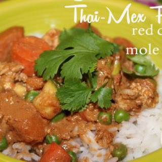 Thai Mex Fusion Red Curry Mole Sauce