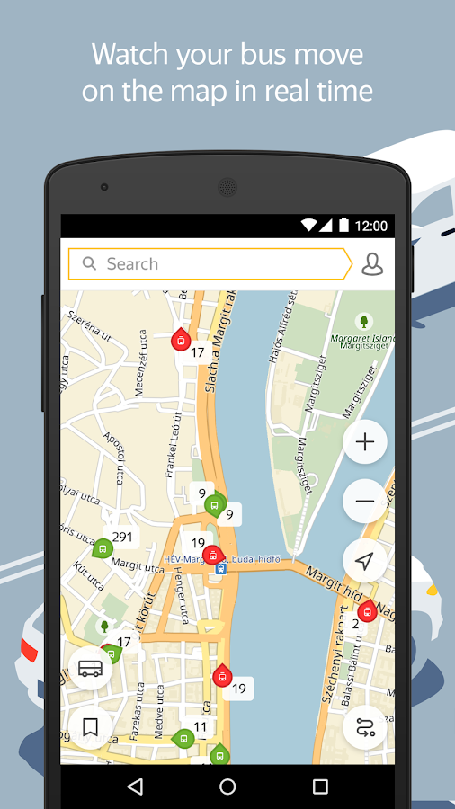Yandex.Transport- screenshot