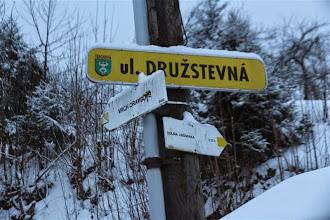 Photo: Po necelej hodinke som späť, miesto, kde začína odbočka na Vrch Oravcové