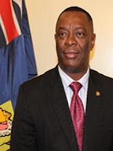His Hon. the Speaker, Dwayne Taylor
