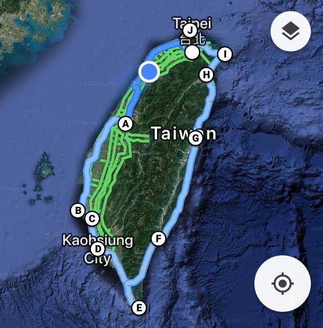 台灣環島旅遊規劃行程