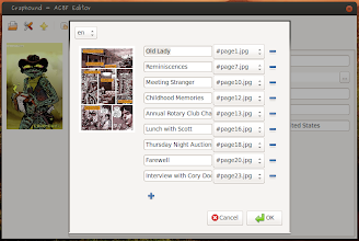 Photo: Editing Table of Contents