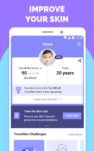 TroveSkin: Your Skincare Coach 6.20 screenshots 1