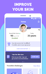 App TroveSkin: Your Skincare Coach APK for Windows Phone