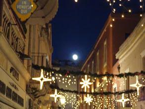 Photo: Full moon, Corso Umberto