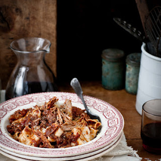 Rich Slow Roasted Pork and Red Wine Ragu.