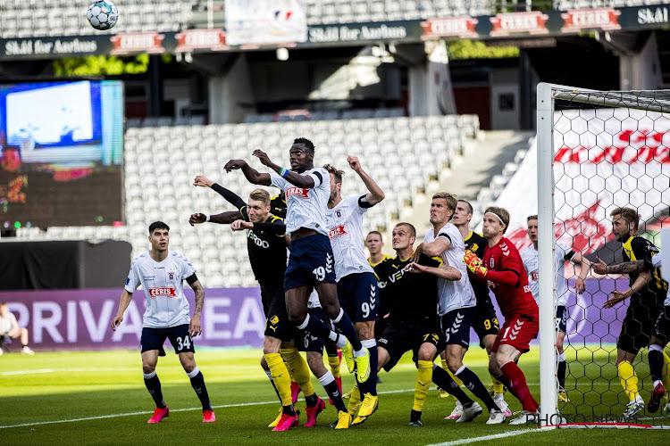 Le club d'Aarhus officialise les discussions avec Anderlecht pour Bundu