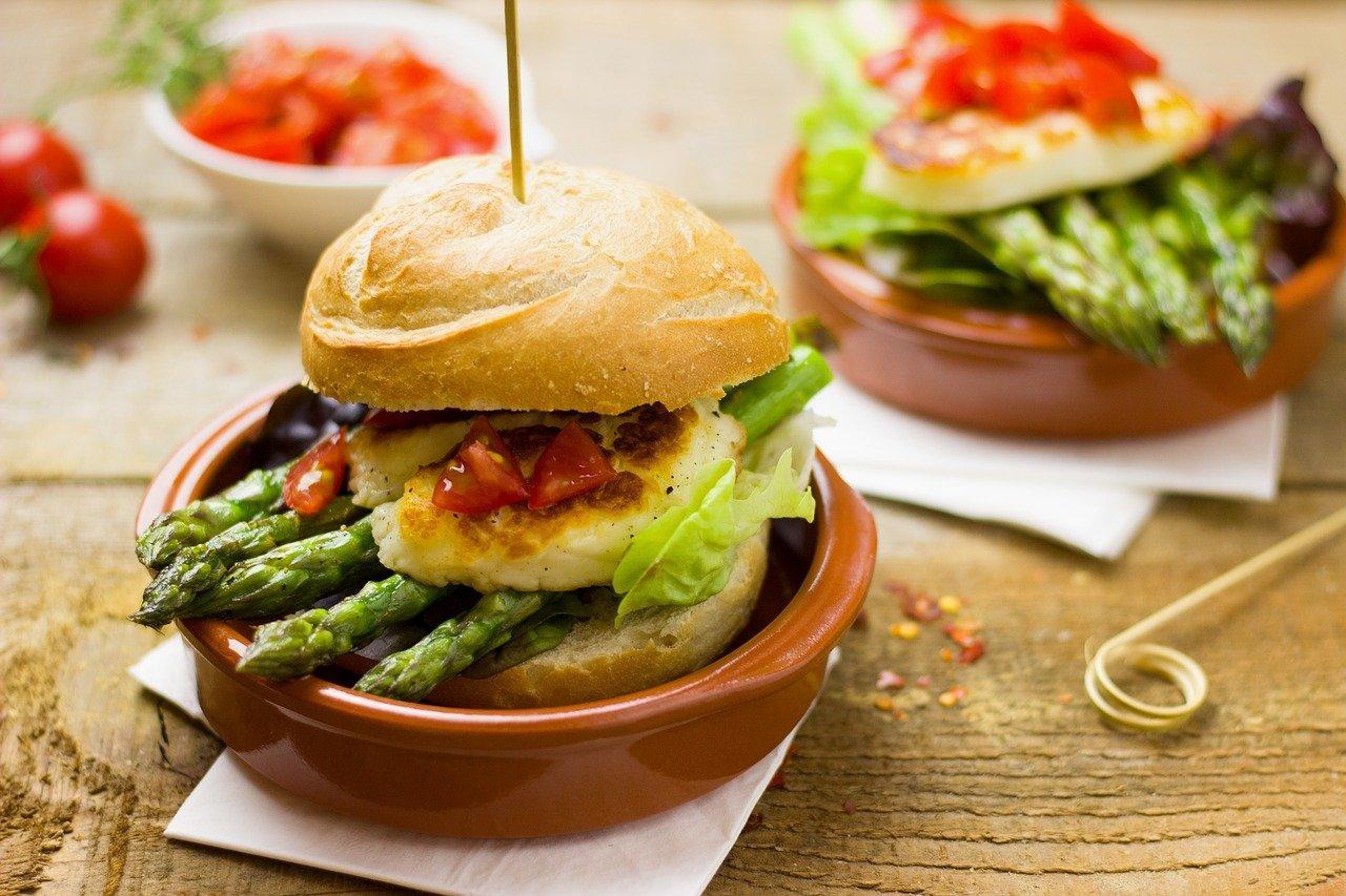 Спаржа Бургер Вегетарианские - Бесплатное фото на Pixabay