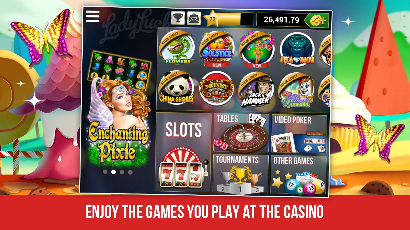 online casino free money lucky lady