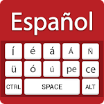 Spanish keyboard- Easy Spanish English Typing Icon