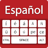 Spanish keyboard- Easy Spanish English Typing