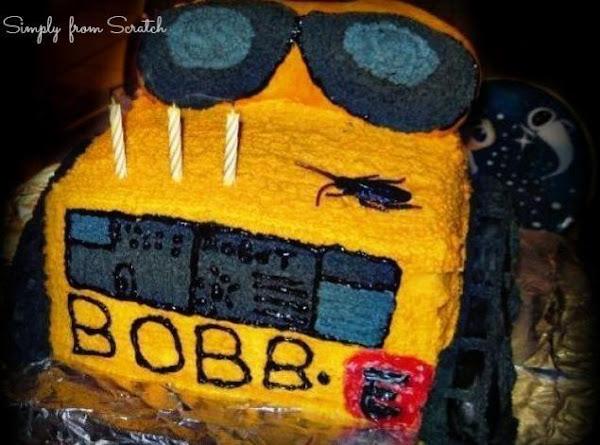 Wall-e Birthday Cake Recipe