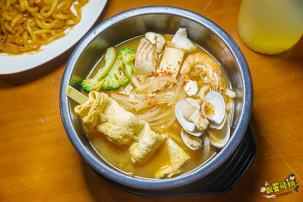 韓館仁川 韓食夜宵 韓式宵夜起司春川炒雞、大醬鮮味烏龍湯麵宵夜罪惡又美味