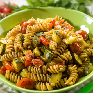 Baked Fusilli with Zucchini