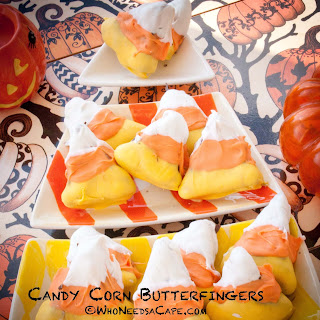 Candy Corn Butterfingers
