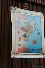 Photo: La carte au trésor