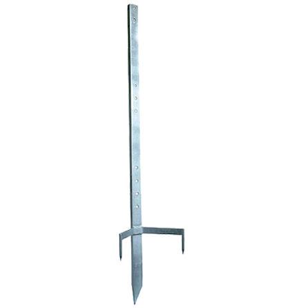 Monteringsstolpe 120 cm för trådvinda