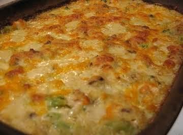 Holiday Broccoli & Rice Casserole