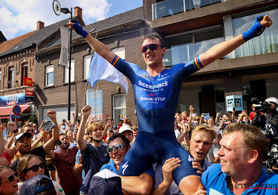 """Yves Lampaert pakte het verstandig aan na zijn grote triomf: """"Supporters hadden al wat bier in hun lichaam"""""""