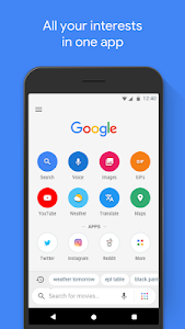 Google Go: A lighter, faster way to search 1.7.196814662.release