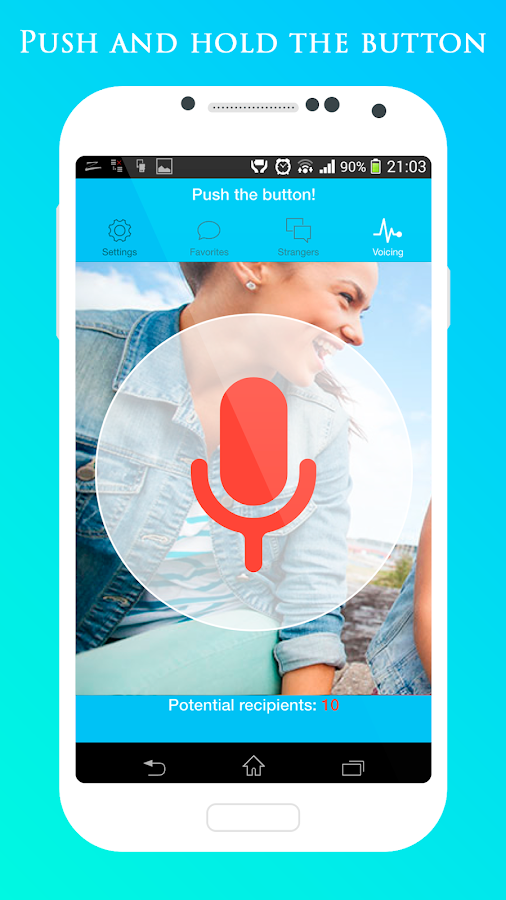 Voice dating
