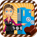 Chocolate Factory Maker kids icon