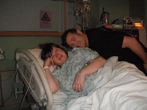Photo: Mum and Dad so very happy!