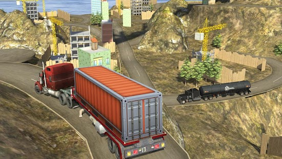 Heavy Truck Driver Simulator Screenshot