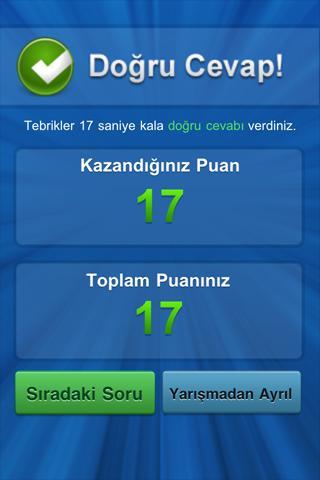 Bilgi Yarışı screenshot 4