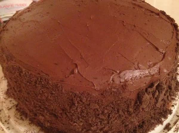 Carrie's Thin Mint Cake