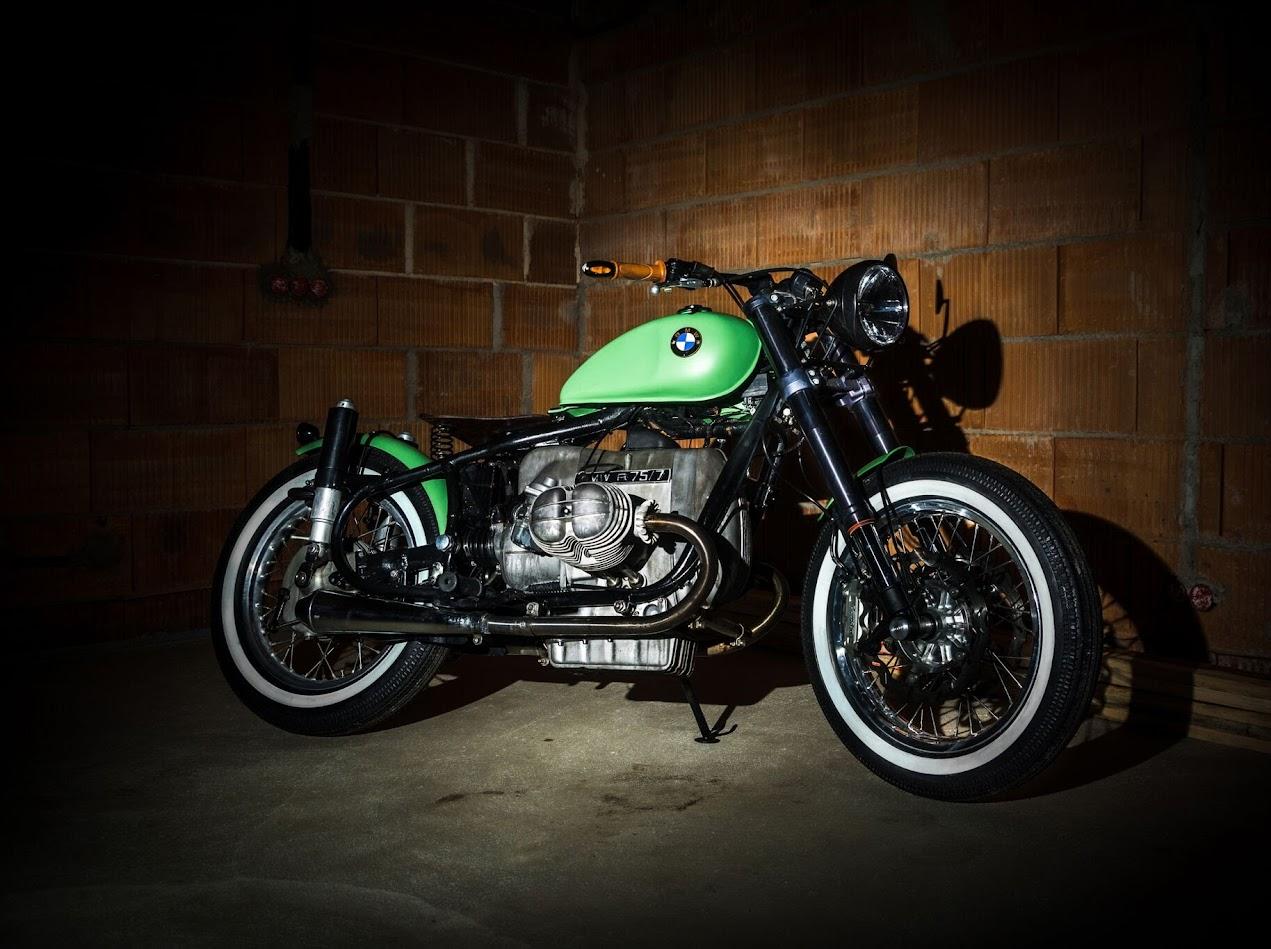 SWT-SPORTS Bobber Chopper Umbau auf BMW Motorrad Basis