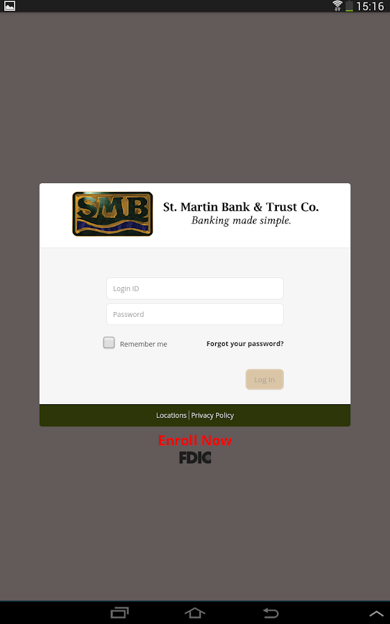 St. Martin Bank & Trust Co.- screenshot