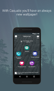 Casualis:Auto wallpaper change App Download for Android 1