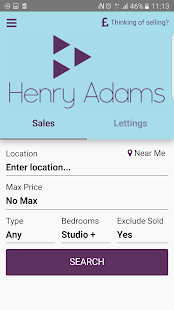 Henry Adams Property Search- screenshot thumbnail