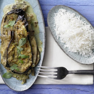 Eggplant and Coconut Curry
