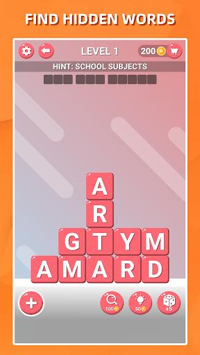Recherche de mots bloqués-Jeu de puzzle classique APK MOD (Astuce) screenshots 1