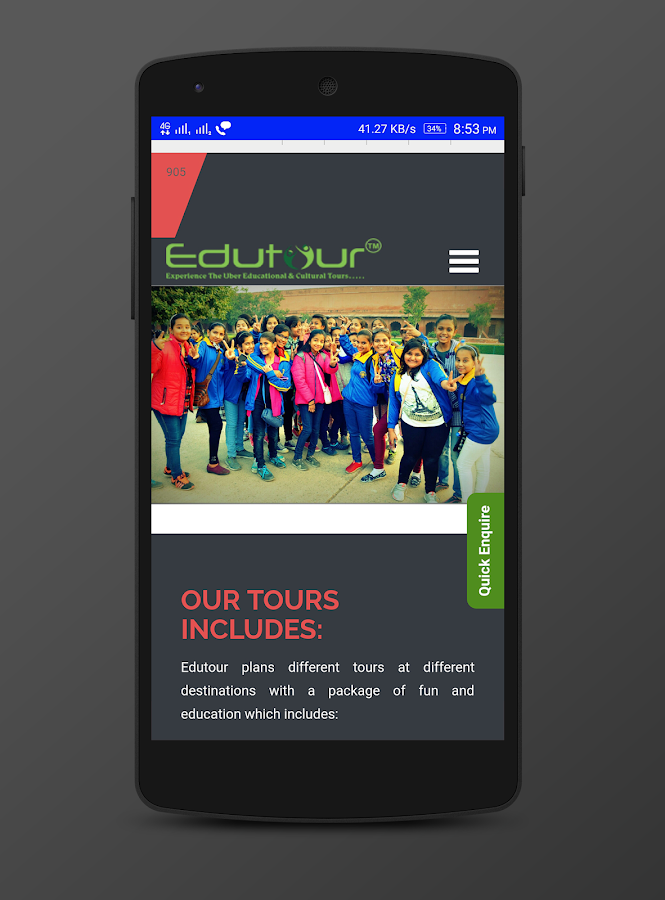 Edutour : Educational School Tour- screenshot