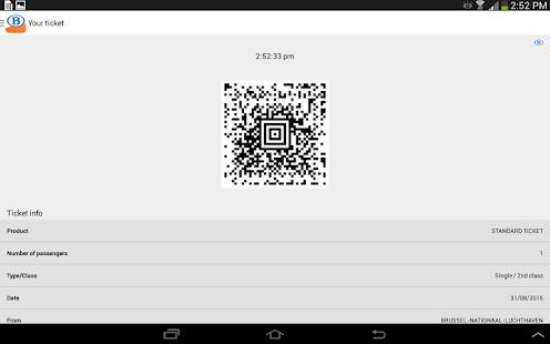 SNCB/NMBS- screenshot thumbnail