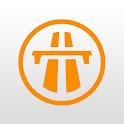 autopistas en ruta icon