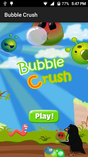 Bubble Crush Game