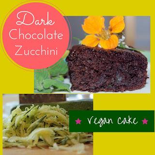 BEST Dark Chocolate Vegan Zucchini Cake