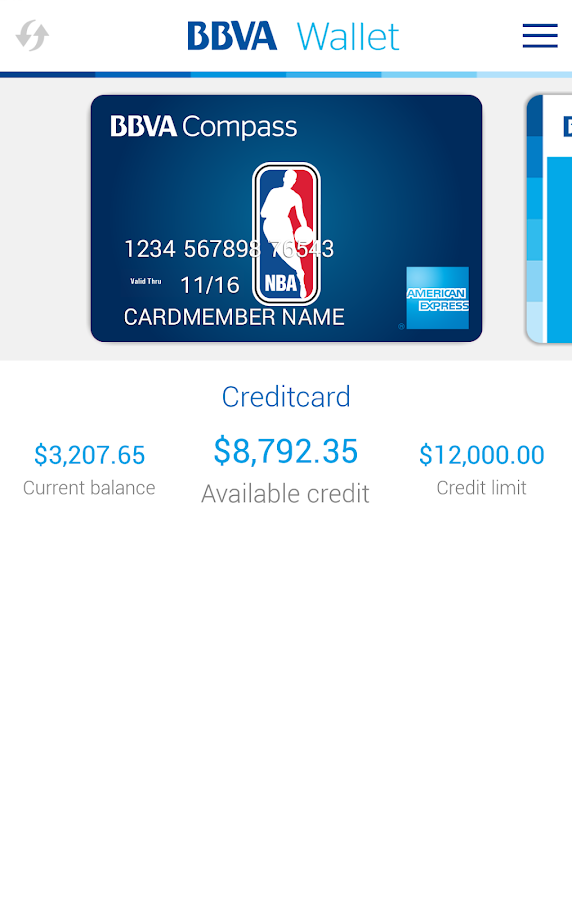 BBVA Wallet | USA- screenshot