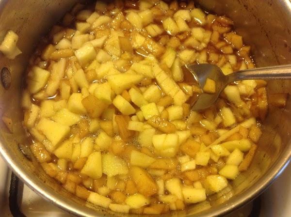 "Preheat oven 350 degrees & oil a 5* 9"" baking pan.  Peel & chop..."
