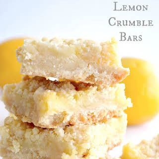 Lemon Crumble Bars.