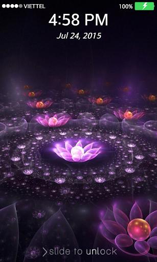 Lock screen Wallpaper: Lotus 2