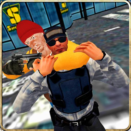 Supermarket Robbery: Legend Mafia Gangster Escape